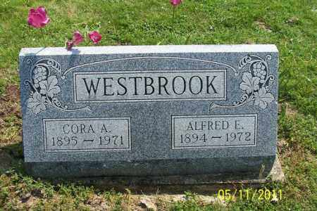 MATHENY WESTBROOK, CORA - Licking County, Ohio | CORA MATHENY WESTBROOK - Ohio Gravestone Photos