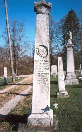 WILCOX, B.F. - Licking County, Ohio   B.F. WILCOX - Ohio Gravestone Photos