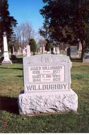 WILLOUGHBY, MARY FRANCES - Licking County, Ohio | MARY FRANCES WILLOUGHBY - Ohio Gravestone Photos