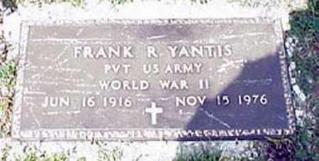 YANTIS, FRANK RUSSEL - Licking County, Ohio   FRANK RUSSEL YANTIS - Ohio Gravestone Photos