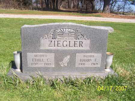 ZIEGLER, HARRY E - Licking County, Ohio | HARRY E ZIEGLER - Ohio Gravestone Photos