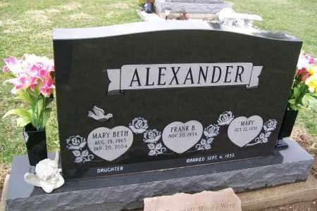 ALEXANDER, MARY - Logan County, Ohio | MARY ALEXANDER - Ohio Gravestone Photos