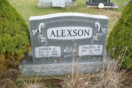 ALEXSON, HOMER A. - Logan County, Ohio | HOMER A. ALEXSON - Ohio Gravestone Photos