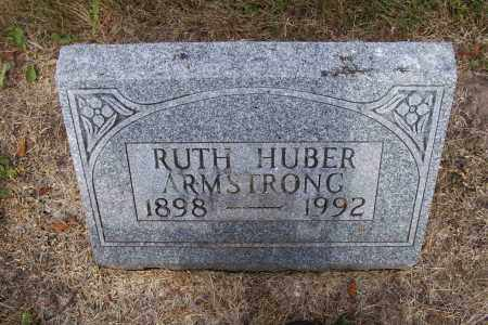 HUBER ARMSTRONG, RUTH - Logan County, Ohio | RUTH HUBER ARMSTRONG - Ohio Gravestone Photos