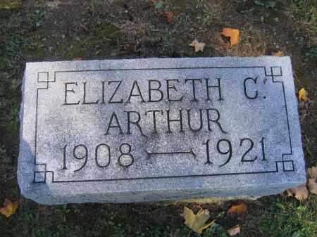 ARTHUR, ELIZABETH C. - Logan County, Ohio | ELIZABETH C. ARTHUR - Ohio Gravestone Photos
