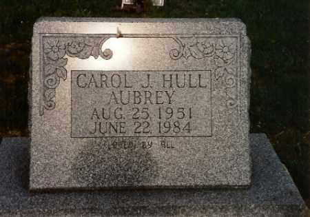 HULL AUBREY, CAROL JEAN - Logan County, Ohio | CAROL JEAN HULL AUBREY - Ohio Gravestone Photos