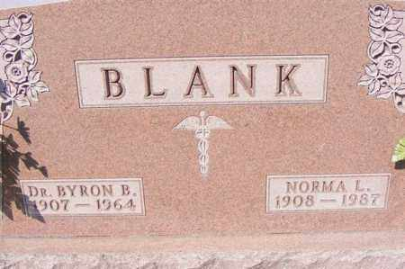 BLANK, NORMA L. - Logan County, Ohio | NORMA L. BLANK - Ohio Gravestone Photos