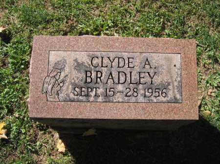 BRADLEY, CLYDE A. - Logan County, Ohio   CLYDE A. BRADLEY - Ohio Gravestone Photos