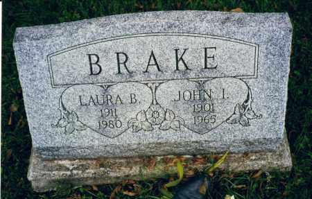 BRAKE, LAURA BELLE PASH - Logan County, Ohio | LAURA BELLE PASH BRAKE - Ohio Gravestone Photos