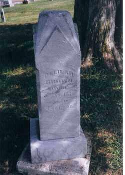 BROWN, DELILAH - Logan County, Ohio | DELILAH BROWN - Ohio Gravestone Photos