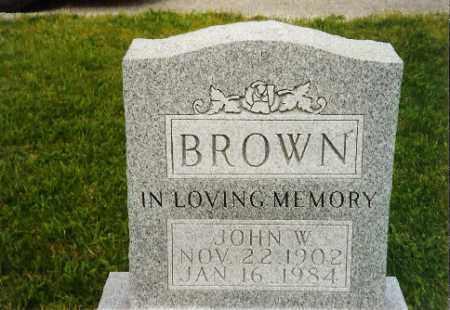 BROWN, JOHN - Logan County, Ohio | JOHN BROWN - Ohio Gravestone Photos