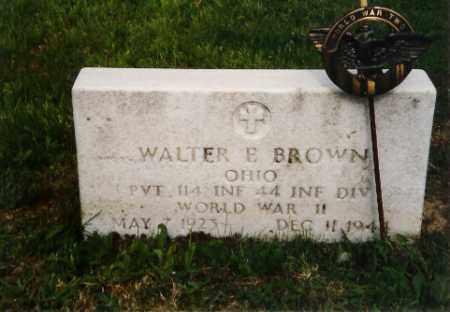 BROWN, WALTER - Logan County, Ohio | WALTER BROWN - Ohio Gravestone Photos