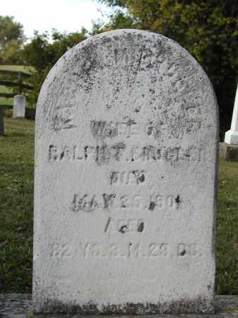 BRUGLER, RACHEL QUICK - Logan County, Ohio | RACHEL QUICK BRUGLER - Ohio Gravestone Photos