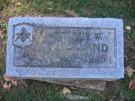 BUCKLAND, WILBUR W. - Logan County, Ohio | WILBUR W. BUCKLAND - Ohio Gravestone Photos