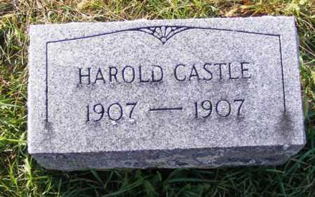 CASTLE, HAROLD - Logan County, Ohio   HAROLD CASTLE - Ohio Gravestone Photos