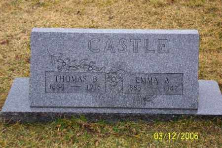 CASTLE, EMMA - Logan County, Ohio | EMMA CASTLE - Ohio Gravestone Photos