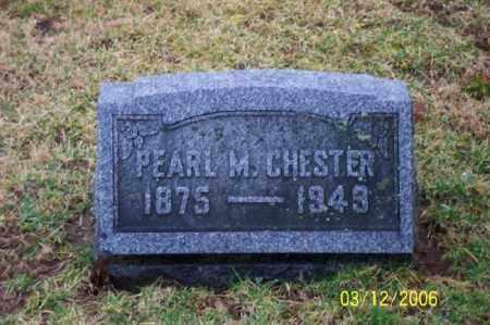 CHESTER, PEARL - Logan County, Ohio   PEARL CHESTER - Ohio Gravestone Photos