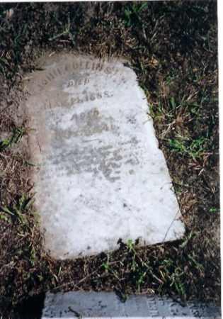 COLLINS, JOHN - Logan County, Ohio   JOHN COLLINS - Ohio Gravestone Photos