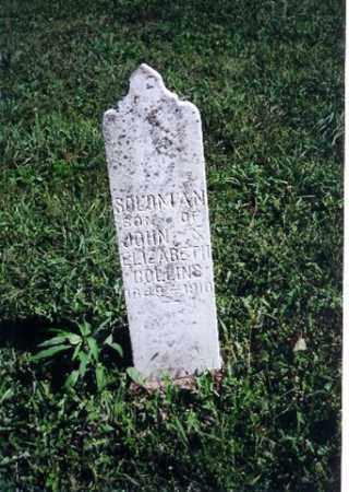 COLLINS, SOLOMAN - Logan County, Ohio | SOLOMAN COLLINS - Ohio Gravestone Photos