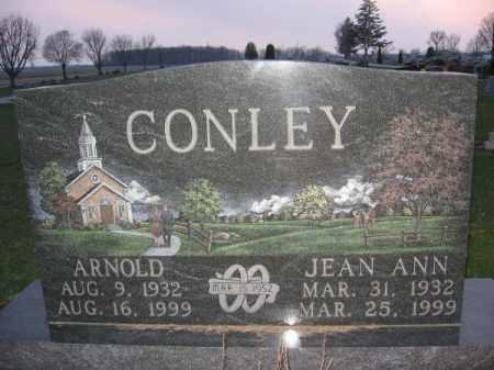 CONLEY, JEAN ANN - Logan County, Ohio | JEAN ANN CONLEY - Ohio Gravestone Photos