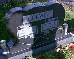 CORWIN, HANNA M SKIDMORE - Logan County, Ohio | HANNA M SKIDMORE CORWIN - Ohio Gravestone Photos