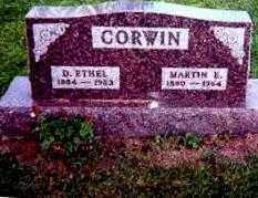 CORWIN, MARTIN E. - Logan County, Ohio | MARTIN E. CORWIN - Ohio Gravestone Photos