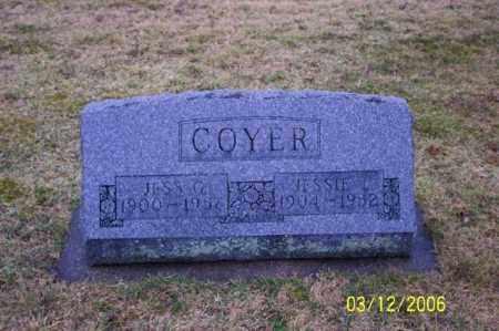 COYER, JESSIE - Logan County, Ohio   JESSIE COYER - Ohio Gravestone Photos