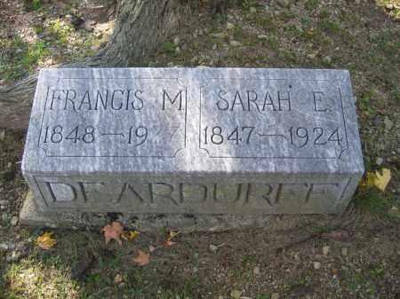 DEARDUFF, FRANCIS M. - Logan County, Ohio | FRANCIS M. DEARDUFF - Ohio Gravestone Photos