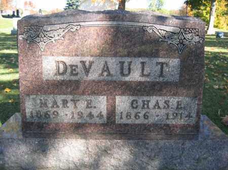 DEVAULT, MARY E. - Logan County, Ohio | MARY E. DEVAULT - Ohio Gravestone Photos