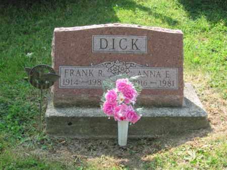 DICK, ANNA E. WOODARD - Logan County, Ohio | ANNA E. WOODARD DICK - Ohio Gravestone Photos