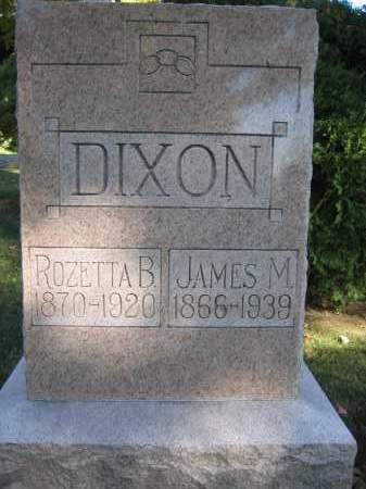 DIXON, ROZETTA B. - Logan County, Ohio | ROZETTA B. DIXON - Ohio Gravestone Photos