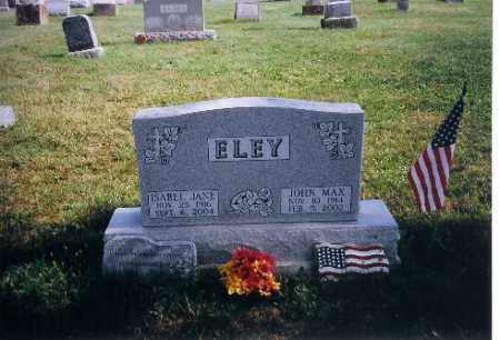 ELEY, ISABEL JANE - Logan County, Ohio | ISABEL JANE ELEY - Ohio Gravestone Photos