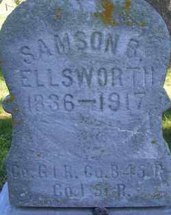 ELLISWORTH, SAMSON B - Logan County, Ohio | SAMSON B ELLISWORTH - Ohio Gravestone Photos