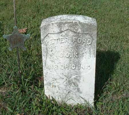 FORD, PETER - Logan County, Ohio | PETER FORD - Ohio Gravestone Photos