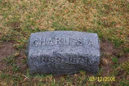 FRANTZ, CHARLES A - Logan County, Ohio   CHARLES A FRANTZ - Ohio Gravestone Photos