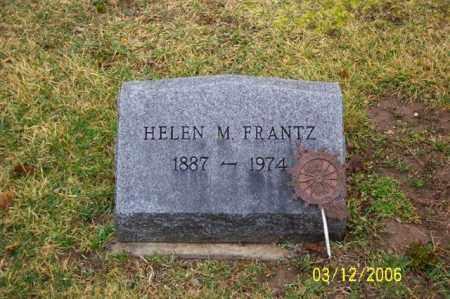 FRANTZ, HELEN M - Logan County, Ohio | HELEN M FRANTZ - Ohio Gravestone Photos