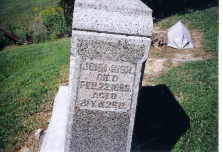 GISH, JOHN - Logan County, Ohio | JOHN GISH - Ohio Gravestone Photos