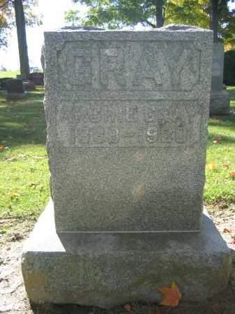 GRAY, ARCHIE - Logan County, Ohio   ARCHIE GRAY - Ohio Gravestone Photos
