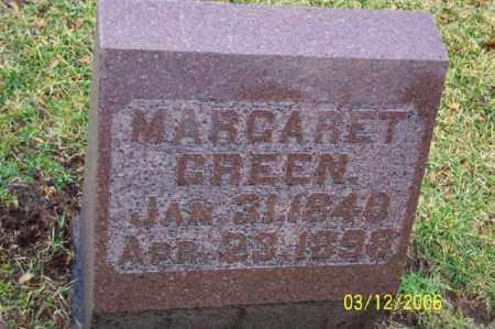 GREEN, MARGARET - Logan County, Ohio | MARGARET GREEN - Ohio Gravestone Photos