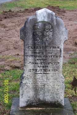 GRIFFITH, ELIZABETH A - Logan County, Ohio | ELIZABETH A GRIFFITH - Ohio Gravestone Photos