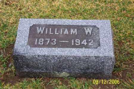HAMSHER, WILLIAM W - Logan County, Ohio   WILLIAM W HAMSHER - Ohio Gravestone Photos