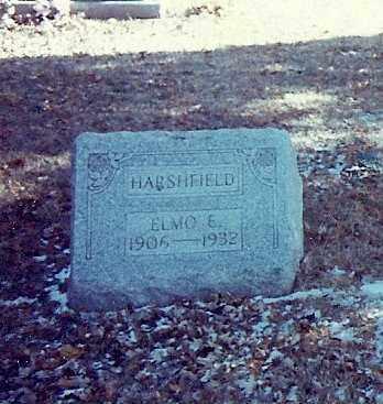 HARSHFIELD, ELMO E. - Logan County, Ohio | ELMO E. HARSHFIELD - Ohio Gravestone Photos