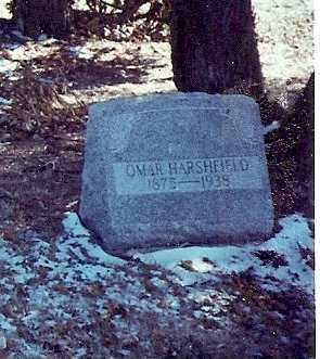 HARSHFIELD, OMAR - Logan County, Ohio   OMAR HARSHFIELD - Ohio Gravestone Photos