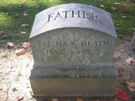 HEATH, ELISHA A. - Logan County, Ohio   ELISHA A. HEATH - Ohio Gravestone Photos