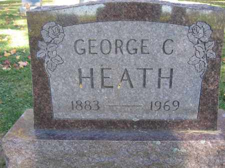 HEATH, GEORGE C. - Logan County, Ohio | GEORGE C. HEATH - Ohio Gravestone Photos