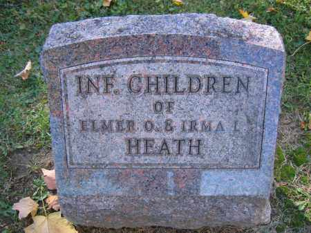 HEATH, INFANT - Logan County, Ohio | INFANT HEATH - Ohio Gravestone Photos