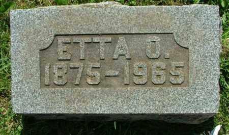 HENGSTELER, ETTA O SHAW - Logan County, Ohio | ETTA O SHAW HENGSTELER - Ohio Gravestone Photos
