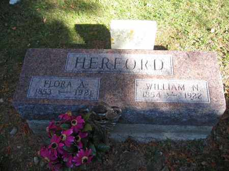 HERFORD, FLORA A. - Logan County, Ohio | FLORA A. HERFORD - Ohio Gravestone Photos