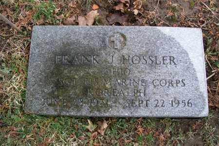 HOSSLER, FRANK J. - Logan County, Ohio | FRANK J. HOSSLER - Ohio Gravestone Photos