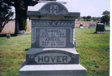 HOOVER, ABIGAL - Logan County, Ohio | ABIGAL HOOVER - Ohio Gravestone Photos